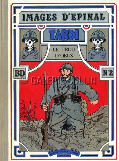Tardi Album Eo 1984 Le Trou D Obus Album Collector