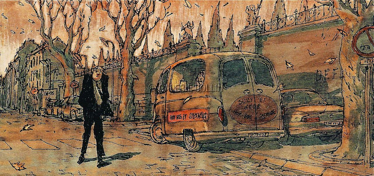 Carte Postale M 233 Tal Hurlant Nicolas De Crecy L 233 On La Came