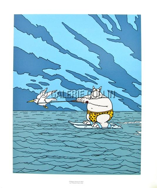Balades du Brompton Forum : élaboration du calendrier •Bƒ Geluk-affiche-chat-ski-nautique