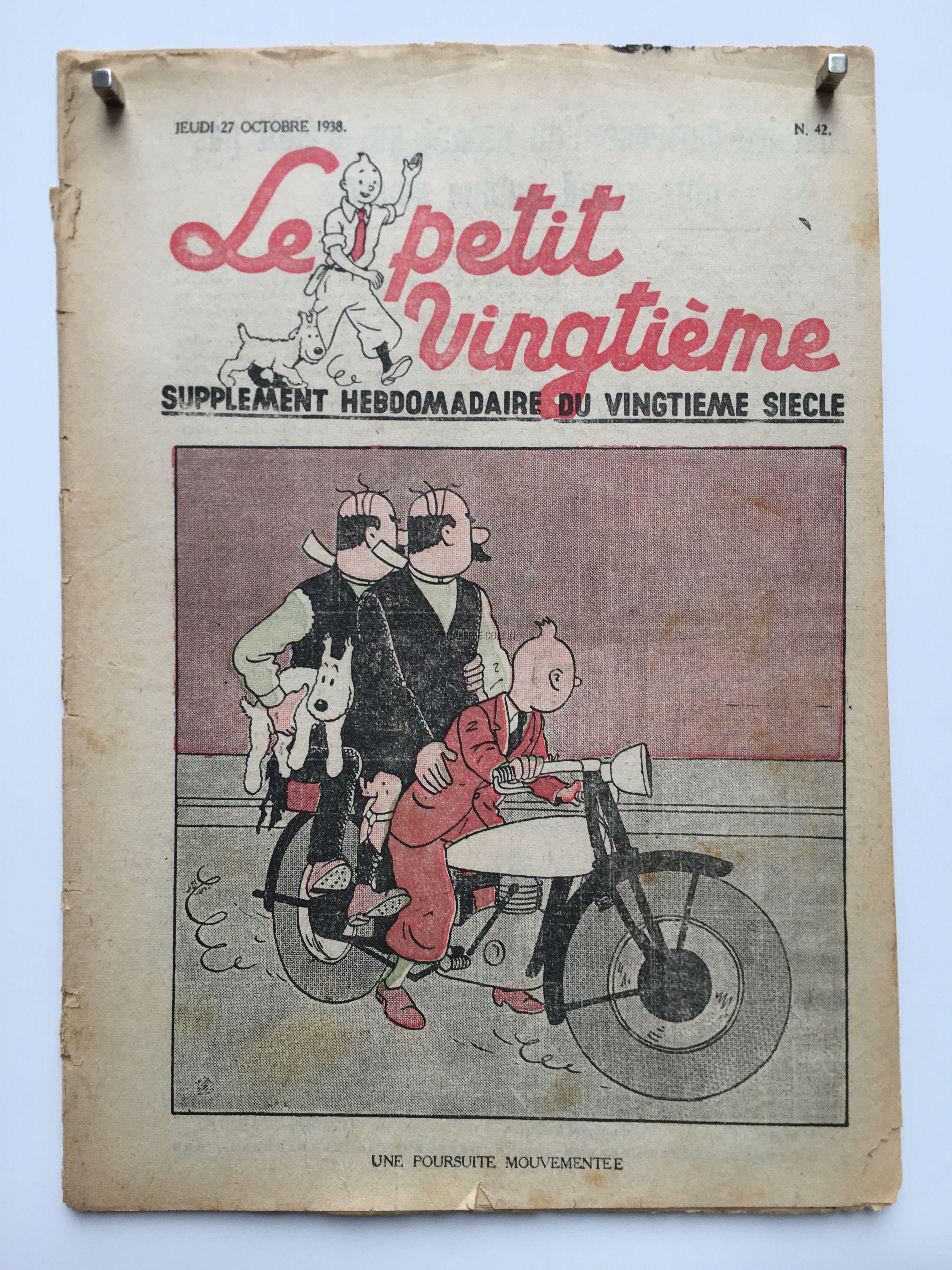 Herg 233 Le Petit Vingti 232 Me 27 Octobre 1938