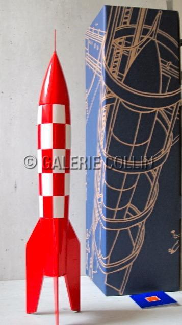 Herg tintin la fus e xflr6 hauteur 55 cm - Fusee de tintin a colorier ...