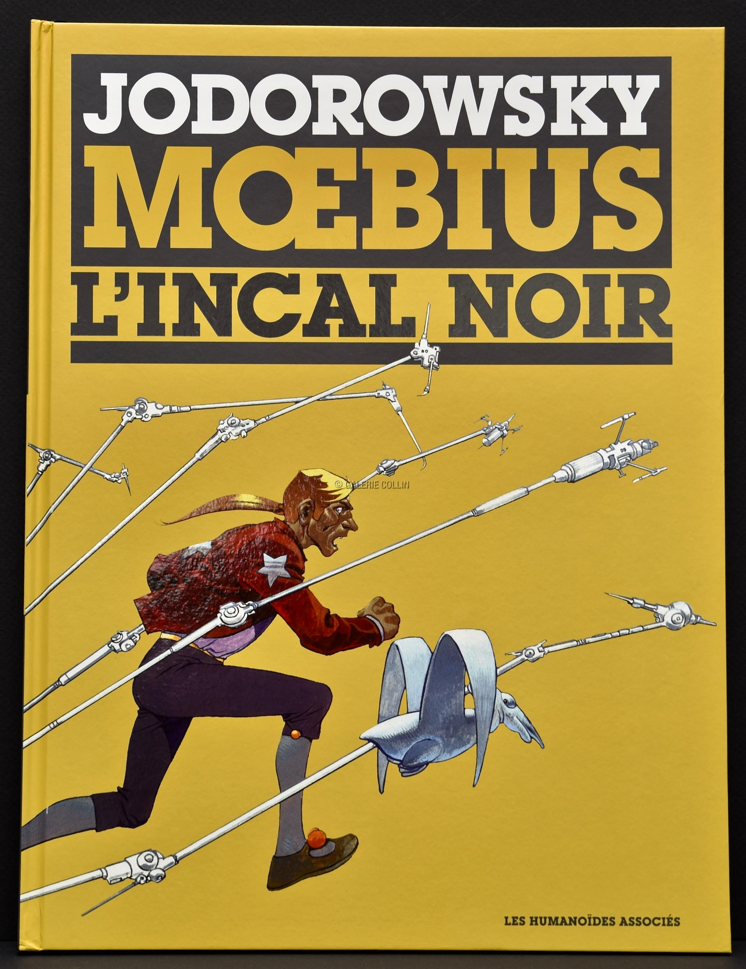 Moebius L Incal Tome 1 L Incal Noir Album Tirage De Luxe Edition Limitee A 1500ex