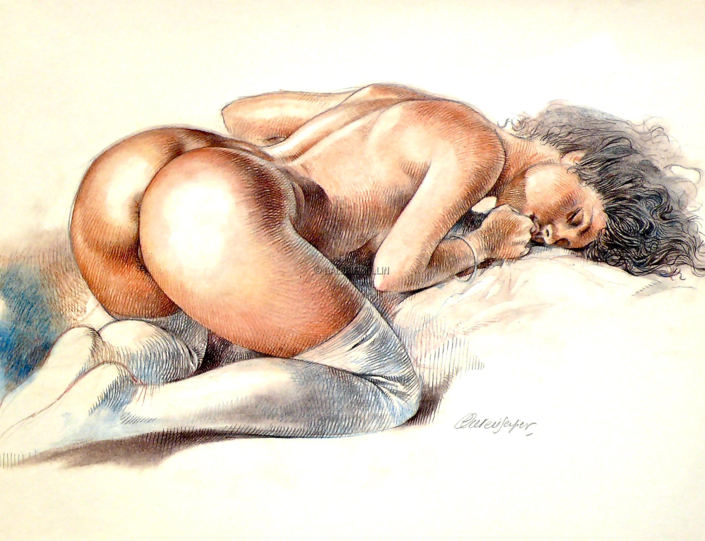 Секс в рисунках художников 9 фотография