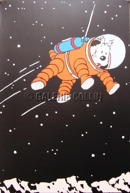 HERGÉ . Tintin - Affiche Série
