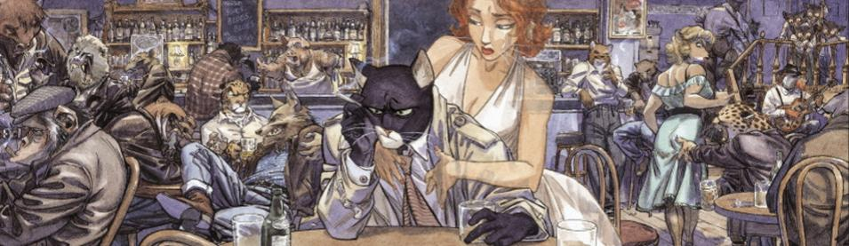 GUARNIDO . Blacksad- Editions estampes-Oeuvres d'art