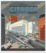 Laurent Durieux-Citroën-Affiche édition d'art