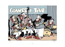 "CESTAC • Sérigraphie ""Giants for Jive"""