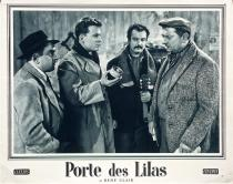 "Photo originale du film ""Porte des Lilas"" • 4/10 Vintage 1957"