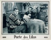 "Photo originale du film ""Porte des Lilas"" • 5/10 Vintage 1957"